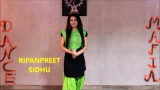 HOW TO LEARN GIDDHA |  tutorial | THE DANCE MAFIA | RIPANPREET SIDHU,MOHALI,9501915706