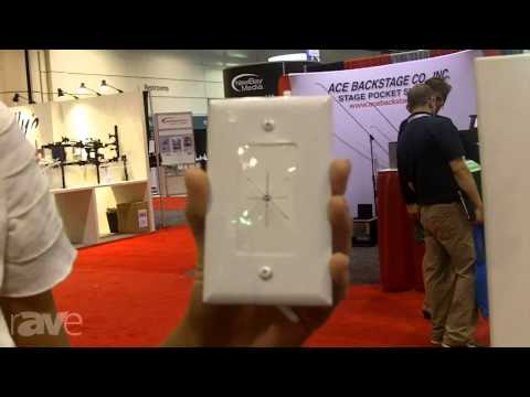 InfoComm 2013: DataComm Shows Off its Cable Plate with Flexible Opening