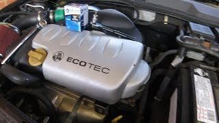 Holden Astra 1.8 Oil Change How To