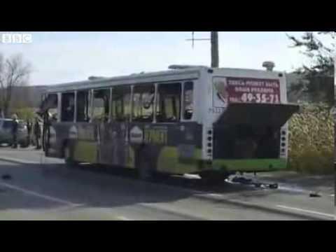 Russia bomb Volgograd bus blast kills five VIDEO Russian Bus Attacked By Suicide Bomber