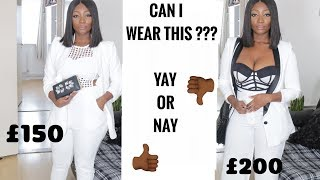 CURVY FASHION : I SPENT £300 ON THESE ITEMS ... Can I wear this?