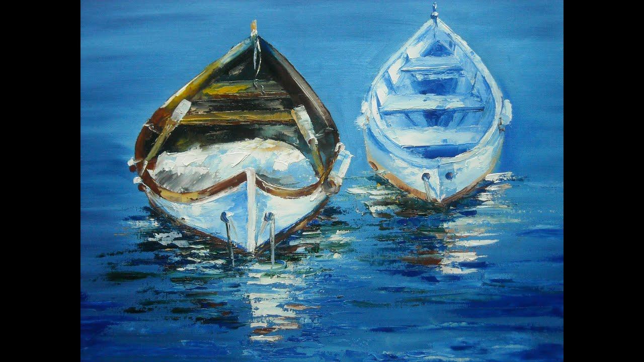 Paint Portrait Oils Water