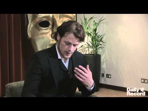 Scottish Baftas 2013 Sam Heughan