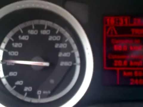 Alfa Romeo 159 2.0 JTDm 170cv consumi a 80km/h (consumption)