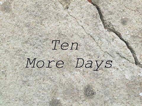 Ten More Days - Avicii (Chris Nilsson Cover)