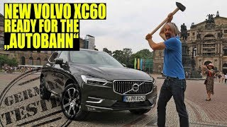 2018 Volvo XC60 SUV at TOPSPEED/ review test on German AUTOBAHN