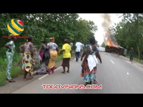 Un grave accident de circulation près de Notsè fait de graves blessés