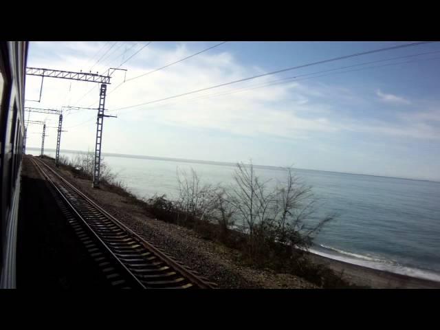 Фото в поезде на море 12 фотография