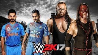 Virat Kohli & M.S. Dhoni VS The Brothers of Destruction - 2-vs-2 Extreme Rules Match