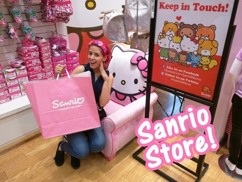 Hello Kitty Sanrio Store at Mall of Millenia Orlando Florida