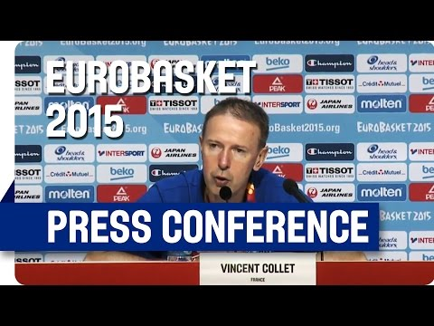 France v Turkey - Post Game Press Conference - Live Stream - Eurobasket 2015