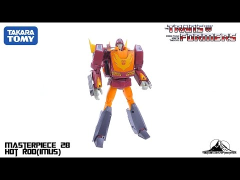 TakaraTomy Transformers MP-28 Masterpiece Hot Rod Video Review