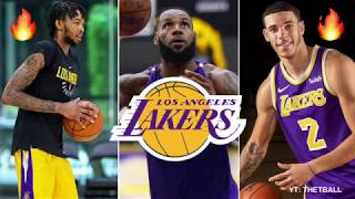 Previewing the Los Angeles Lakers 2018-19 Preseason & Predictions! | LeBron James & Lonzo NBA Stars!