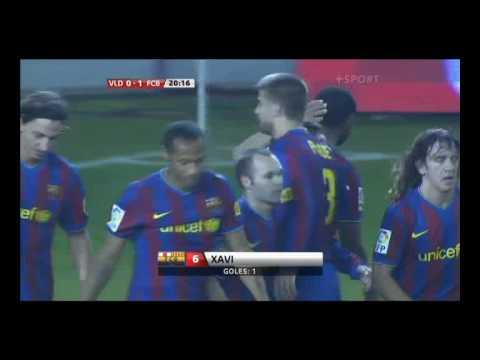 Valladolid - Barcelona 0:3 (0:1 Xavi)