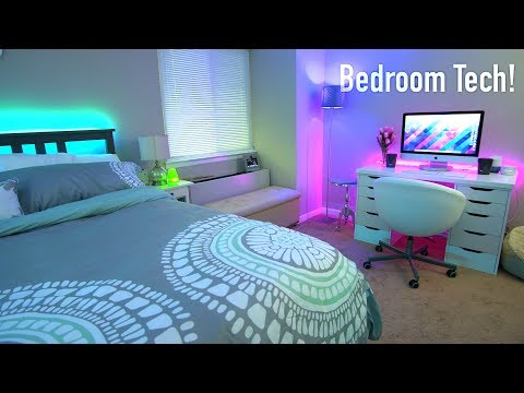 Teching Out Our Bedroom! (Room Tour 2017)