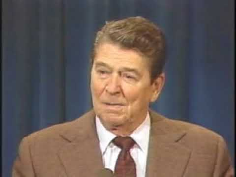 Reagan tells Soviet jokes