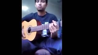 Onek shadhonar pore Guitar cover