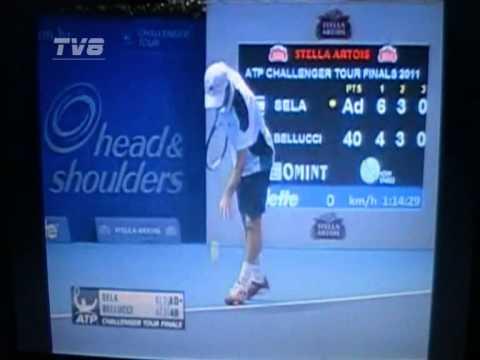 ATP Finals 2011 - Challenger - Bellucci vs Dudi Sela - 5/6
