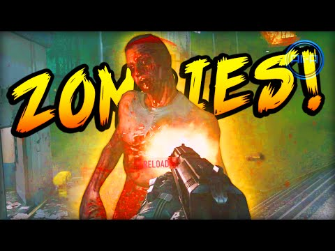 Call of Duty Advanced Warfare ZOMBIES GAMEPLAY! -