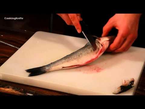 Как разделать рыбу на филе - видео