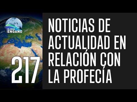 217b. El Gran Engaño. Noticias de actualidad en relación con la profecía.