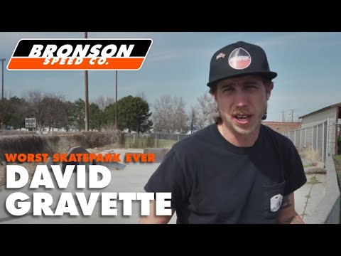 Social Distancing at the Worst Skatepark Ever | David Gravette