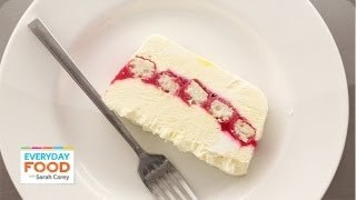 Lemon-Raspberry Semifreddo - Everyday Food with Sarah Carey