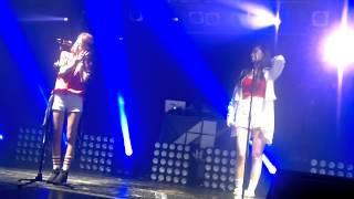 [FANCAM] 140523 4MINUTE (Hyuna and Gayoon) - 들어와 (Come In) (Fan bash in BCN)