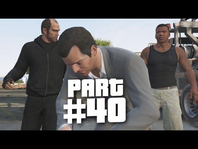 Grand Theft Auto 5 Gameplay Walkthrough Part 40 - Getaway Vehicle (GTA 5) thumbnail
