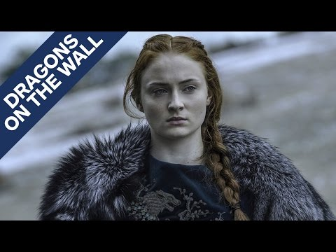 Game of Thrones - Sansa Showed How Much She's Changed - Dragons on the Wall
