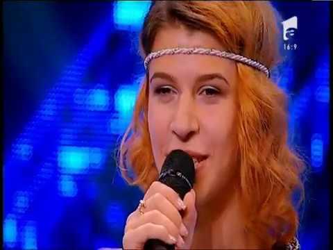 Prezentare. Ilinca Maria, cu zâmbetul pe față în fața juraților X Factor