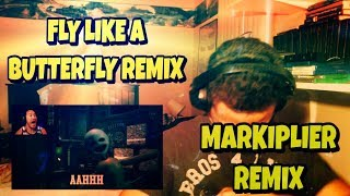 FLY LIKE A BUTTERFLY REMIX REACTION | Markiplier Reaction