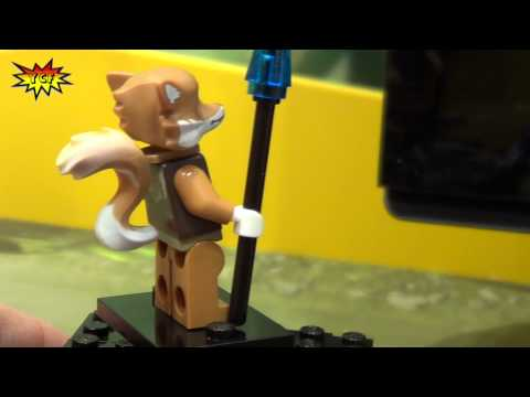 LEGO Chima Speedorz Swamp Jump 70111 Legends of Chima 2013 Preview NY Toy Fair