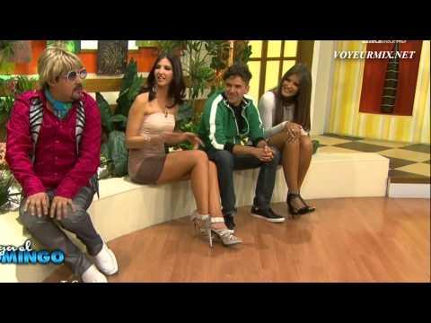 Vanessa Claudio Anette Minifaldas Descuidos HDTV