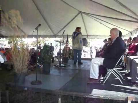 Veteran's Day  Ceremony, Monroe, Louisiana