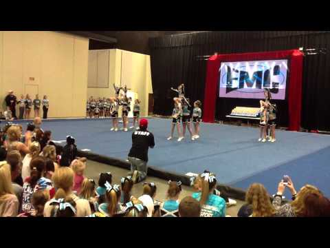 East Mississippi Cheerleading Silver Squad 2/18/12