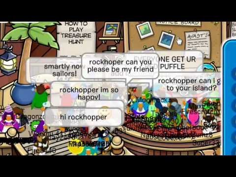 Meeting Rockhopper 2011 Earth Day Party