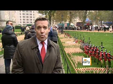 The Early Show - Armistice Day: Britain's day to remember