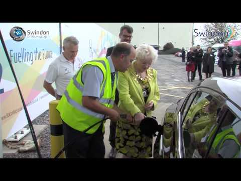 Hydrogen Fuel is produced from Solar Energy in Swindon, England UK