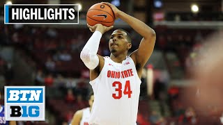 Highlights: Kaleb Wesson Scores 13 in Win | UMass Lowell at Ohio State | Nov. 10, 2019