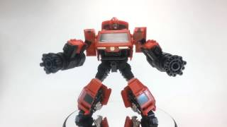 Articulation of the Transformers iGear PP05P Weapon Specialist (aka Ironhide)