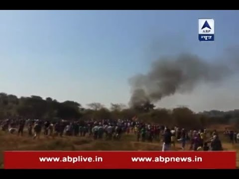 Four injured in helicopter crash in Aarey Colony of Mumbai