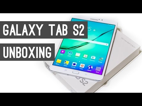Samsung Galaxy Tab S2 Unboxing + Quick Review