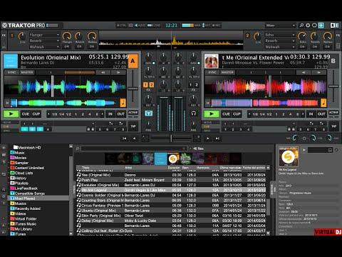 Skin Traktor pro  para virtual dj 8  free download