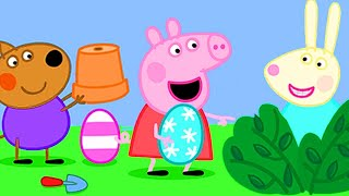 Peppa Pig English Episodes 🐰Peppa Pig's Easter Visit  🐰Peppa Pig Official