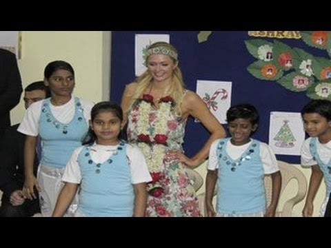 Paris Hilton CAUGHT in INDIA with TAKI SAWANT