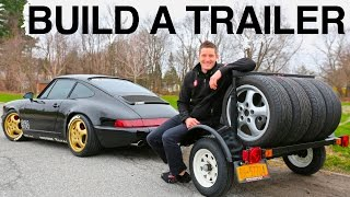How to Build a Mini Trailer for a Porsche