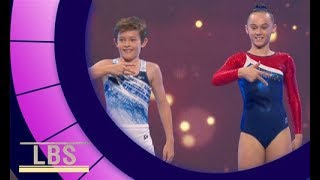 Meet Synchronised Trampolining champions Joel & Kayla | Little Big Shots Aus Season 2 Episode 3