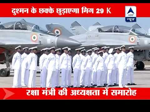 Navy inducts MiG-29 K into Navy on 60th anniversary