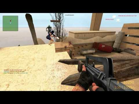 Counter Strike Source Zombie Mod : Facking Win98